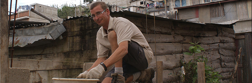 Bénévole au travail, Guatemala (Crédit photo : Louis Paquette)